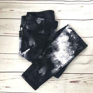 ALO YOGA airbrushed tie dye leggings M